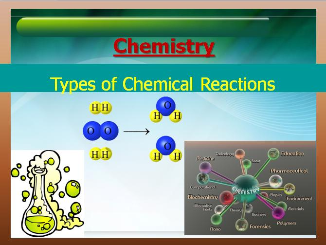 a study on chemical reactions Chemical reactions high impact list of articles ppts journals 957   comparative study of enzymatic and chemical denaturation of wheat gluten and  their.