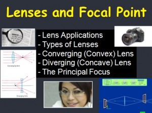 Lesson 8 Lenses and Focal Point 1