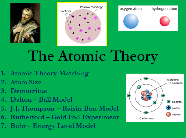 a history on the development of the atomic theory The history of atomic chemistry: crash course chemistry #37  in terms of atomic chemistry, hank takes us on a tour of the folks that were part of the long chain of other folks who helped us get.