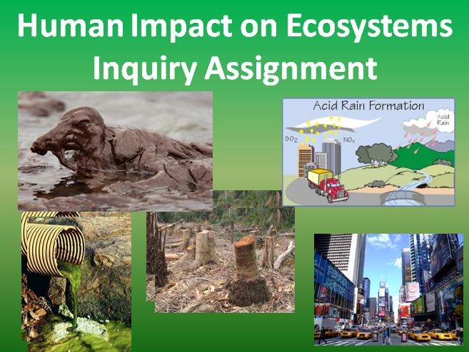 geoecology human impact on biomes