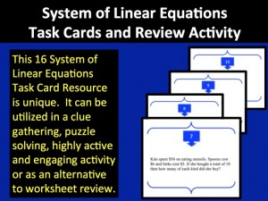 Linear System TC 1