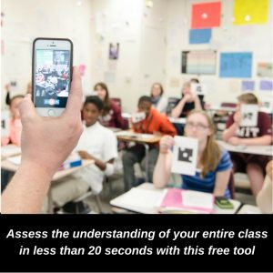 Assess the understanding of your entire in less than 20 seconds with this free tool