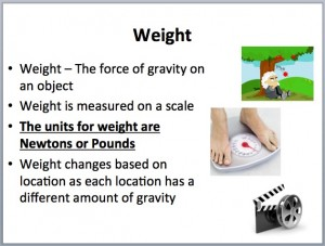 Mass Weight 2