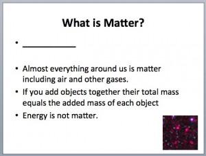 Matter 3