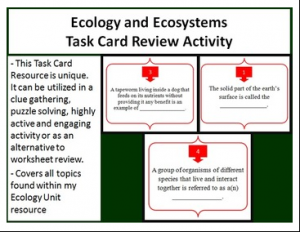 Ecology Task Cards 1